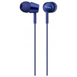 гарнитура для телефона Sony MDR-EX150AP, синяя