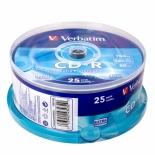 Оптический диск Verbatim CD-R 80 (25шт./кейкбокс)