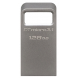 usb-флешка Kingston DataTraveler Micro 3.1 128GB, серебристая