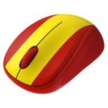мышка Logitech Wireless Mouse M235 910-004028, Красно-желтая