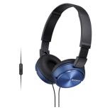 гарнитура для телефона Sony MDR-ZX310AP синие