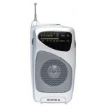 Радиоприемник Supra ST-114, серебристый
