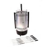Электрогриль Irit IR-5150, черный/сталь