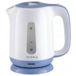 чайник электрический Supra KES-1724, белый/синий