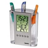 термометр Hama LCD Thermometer (H-75299), серебристый