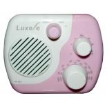 Радиоприемник Сигнал Luxele РП-114, бело-розовый