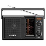 Радиоприемник Supra ST-122, черный