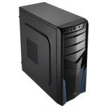 корпус Aerocool V2X, Blue, ATX, 600Вт, USB 3.0