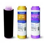 фильтр для воды комплект Гейзер К-4 (сменные картриджи)