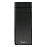 корпус ATX Exegate TP-209  без БП, Black&Silver