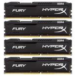 модуль памяти Kingston HyperX Fury DDR4 32Gb, 2133MHz 4*8Gb