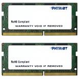модуль памяти DDR-4 SODIMM 16Gb 2*8Gb 2133MHz, Patriot PSD416G2133SK