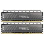 модуль памяти DDR4 16Gb 2666MHz, Crucial 2*8Gb BLT2C8G4D26AFTA