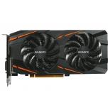 видеокарта Radeon Gigabyte Radeon RX 480 1290Mhz PCI-E 3.0 4096Mb 7000Mhz 256 bit DVI HDMI HDCP (GV-RX480G1 GAMING-4GD)