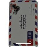 чехол для смартфона спинка E-cell AIR MAIL POST CARD DESIGN HARD BACK CASE