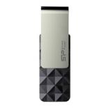 usb-флешка Silicon Power Blaze B30 16GB, серебристо-черная