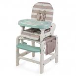 стульчик для кормления Happy Baby Oliver V2, бежевый