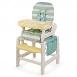 стульчик для кормления Happy Baby Oliver V2, голубой