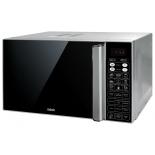 микроволновая печь BBK 23MWC-982S/SB-M, серебристо-черная