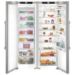холодильник Liebherr SBSef 7242, серебристый