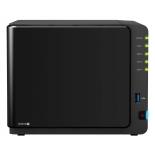 сетевой накопитель Synology DiskStation DS916+, 2Gb RAM (4x 2.5/3.5'', SATA - USB/LAN, eSATA), чёрный