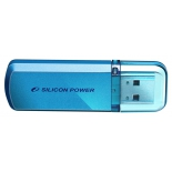 usb-флешка Silicon Power Helios 101 32GB USB 2.0, голубая