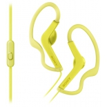 гарнитура для телефона Sony MDR-AS210AP, желтая