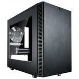 корпус Fractal Design Define Nano S, Black FD-CA-DEF-NANO-S-BK-W с окном