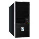 корпус Miditower FOX 8813BK, Black ATX 500W (24+4+6пин)