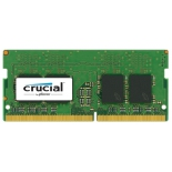 модуль памяти DDR4 16Gb 2400MHz, Crucial CT16G4SFD824A RTL PC4-19200 CL17 SO-DIMM 260-pin 1.2В