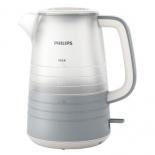 чайник электрический Philips HD9335/31 серый/белый
