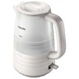 чайник электрический Philips HD9336/21, бежевый/белый