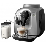 Кофемашина Philips HD8654/59, черно-серебристая