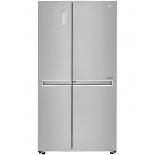 холодильник LG GC-M247 CABV, серебристый
