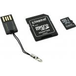 карта памяти Kingston MBLY4G2/32GB (с SD-адаптером и USB-картридером)