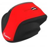 мышка SmartBuy Mouse SBM-613AG-RK красная/черная