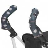 аксессуар к коляске Чехлы CityGrips на ручки для коляски-трости 527 Black Sheep
