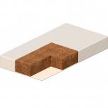 матрас для детской кроватки Vikalex Перуджа 120х60 см