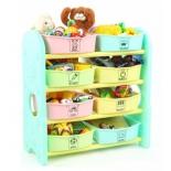 товар для детей Стеллаж для игрушек Edu-Play AR-7385MN