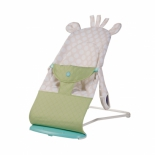 детское кресло-шезлонг Happy Baby Sleeper, зелёное
