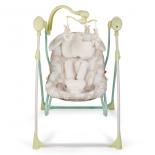 детское кресло-шезлонг Happy Baby Luffy, зелёное