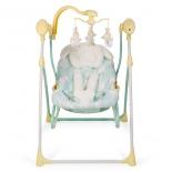детское кресло-шезлонг Happy Baby Luffy, желтое