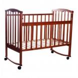 детская кроватка Агат Золушка-1, вишня