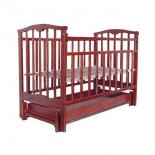 Детская кроватка Агат Золушка-6, вишня, купить за 4 440руб.