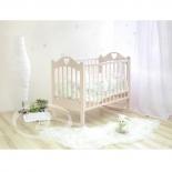 детская кроватка Красная Звезда С-635 Любаша, слоновая кость