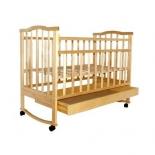 детская кроватка Агат Золушка-2, cветлая