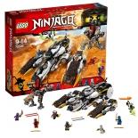 конструктор LEGO Ninjago Внедорожник с суперсистемой маскировки
