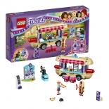 конструктор LEGO Friends 41129 Парк развлечений: фургон с хот-догами