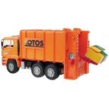 товар для детей Bruder Мусоровоз MAN оранжевый