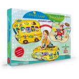 детский коврик Знаток SLW9821 Автобус-зоопарк и человек-оркестр